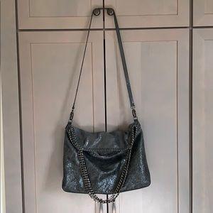 Trouve Bags - Trouvé crackled leather messenger bag